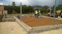 The New Retford Lawn Tennis Club Clubhouse Takes Shape