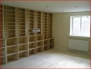The Music Room - The Storage Compartments were manufactured in our Joiner's Shop and the whole room was sound proofed.